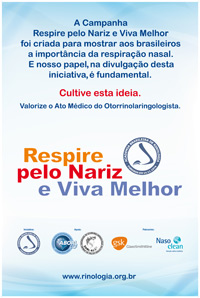 Banner Campanha Respire pelo nariz e viva melhor